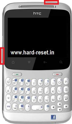 htc chacha hard reset button